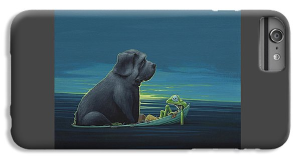 Black Dog IPhone 7 Plus Case by Jasper Oostland