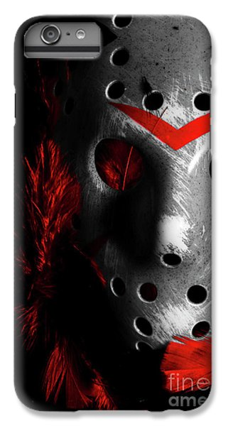 Hockey iPhone 7 Plus Case - Black Friday The 13th  by Jorgo Photography - Wall Art Gallery