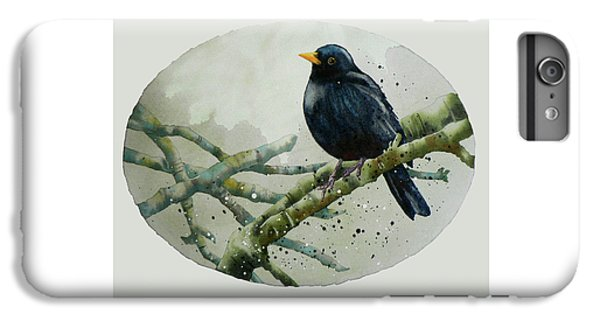 Blackbird Painting IPhone 7 Plus Case by Alison Fennell