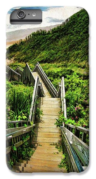 Landscape iPhone 7 Plus Case - Block Island by Lourry Legarde