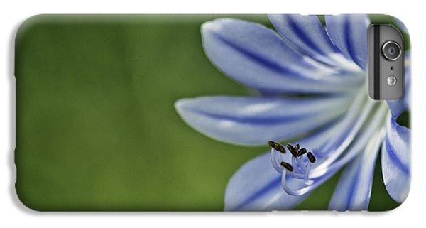 Onion iPhone 7 Plus Case - Blue Flower by Nailia Schwarz