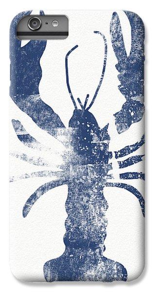 Lake iPhone 7 Plus Case - Blue Lobster- Art By Linda Woods by Linda Woods