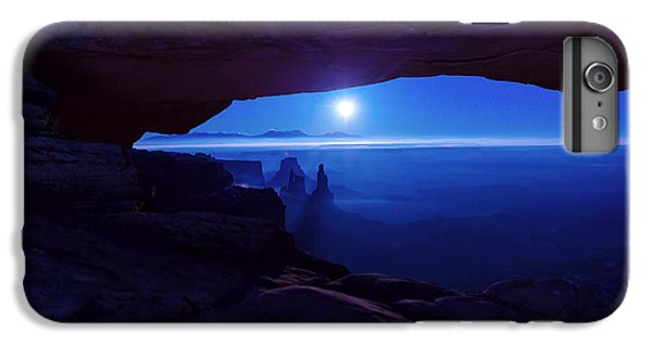 The Moon iPhone 7 Plus Case - Blue Mesa Arch by Chad Dutson