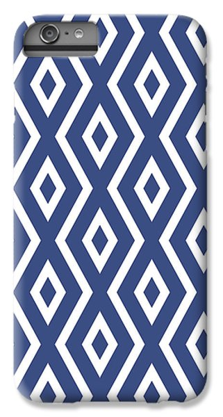 Pattern iPhone 7 Plus Case - Blue Pattern by Christina Rollo