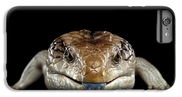 Blue-tongued Skink IPhone 7 Plus Case by Sergey Taran