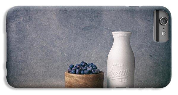Blueberry iPhone 7 Plus Case - Blueberries And Cream by Tom Mc Nemar
