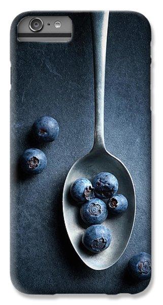 Blueberry iPhone 7 Plus Case - Blueberries On Spoon Still Life by Johan Swanepoel