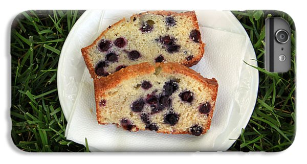 Blueberry iPhone 7 Plus Case - Blueberry Bread by Linda Woods