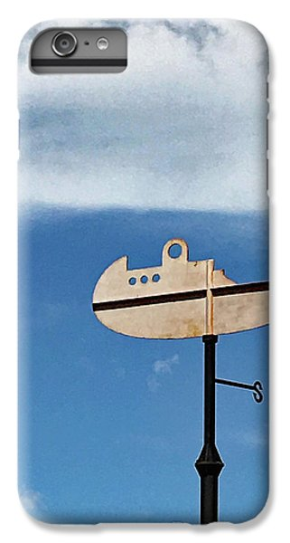 Boat In The Clouds IPhone 7 Plus Case by Sandy Taylor