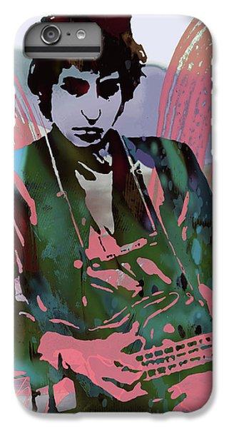 Bob Dylan Modern Etching Art Poster IPhone 7 Plus Case by Kim Wang
