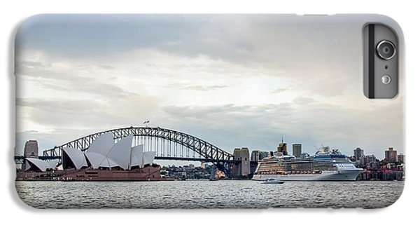 Sydney Skyline iPhone 7 Plus Case - Bon Voyage by Az Jackson