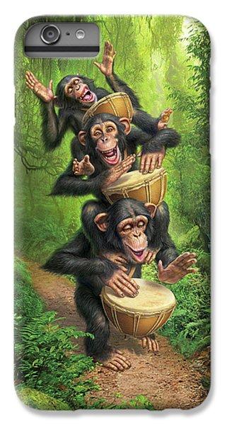 Drum iPhone 7 Plus Case - Bongo In The Jungle by Mark Fredrickson