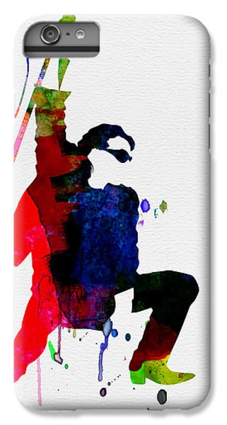 U2 iPhone 7 Plus Case - Bono Watercolor by Naxart Studio