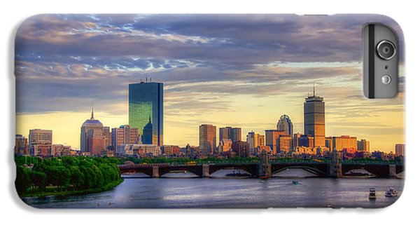 Boston Skyline Sunset Over Back Bay IPhone 7 Plus Case