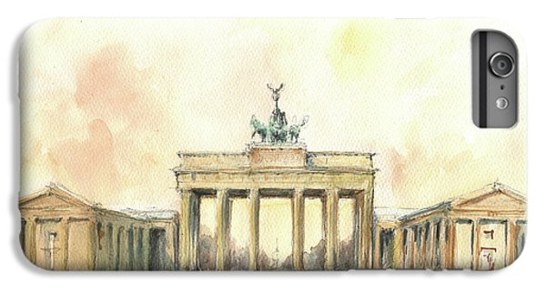 Brandenburger Tor, Berlin IPhone 7 Plus Case by Juan Bosco