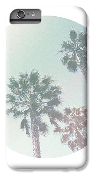 Breezy Palm Trees- Art By Linda Woods IPhone 7 Plus Case by Linda Woods