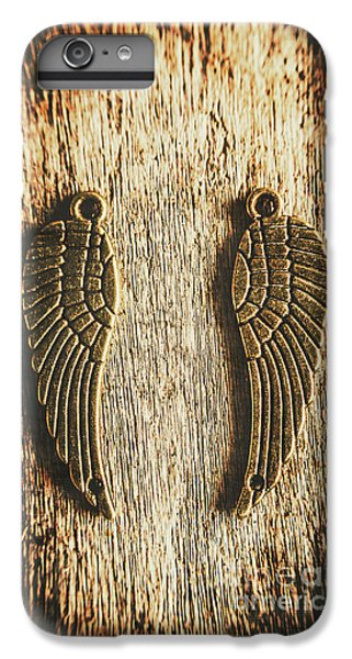 Bronze Angel Wings IPhone 7 Plus Case