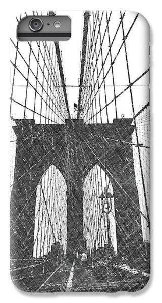 Dick Goodman iPhone 7 Plus Case - Brooklyn Bridge by Dick Goodman