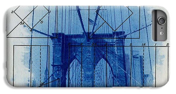 New York City iPhone 7 Plus Case - Brooklyn Bridge by Jane Linders