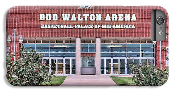 Bud Walton Arena IPhone 7 Plus Case by JC Findley