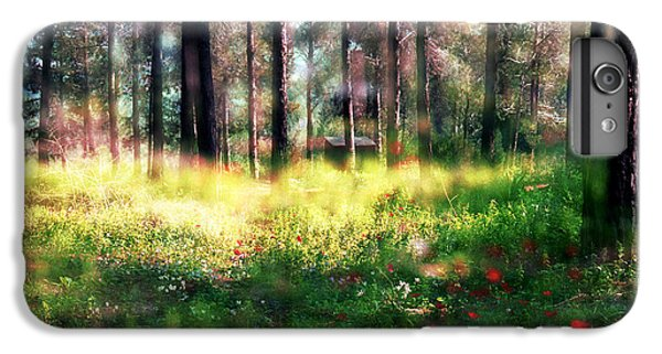 IPhone 7 Plus Case featuring the photograph Cabin In The Woods In Menashe Forest by Dubi Roman