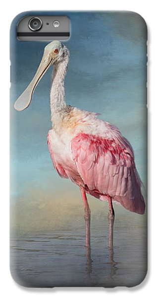 Spoonbill iPhone 7 Plus Case - Call Me Rosy by Kim Hojnacki