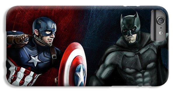 Captain America Vs Batman IPhone 7 Plus Case