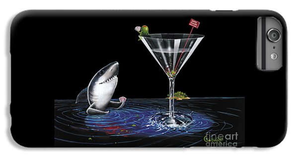 Martini iPhone 7 Plus Case - Card Shark by Michael Godard