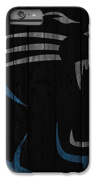 Caroilina Panthers Wood Fence IPhone 7 Plus Case by Joe Hamilton