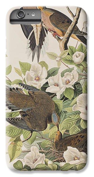 Carolina Turtle Dove IPhone 7 Plus Case by John James Audubon