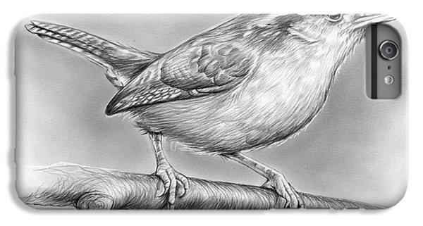 Wren iPhone 7 Plus Case - Carolina Wren by Greg Joens