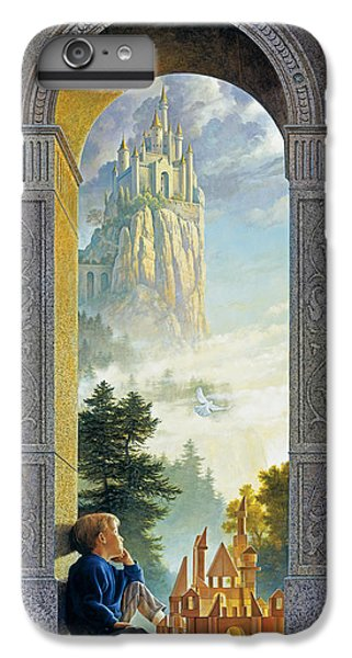 Fantasy iPhone 7 Plus Case - Castles In The Sky by Greg Olsen