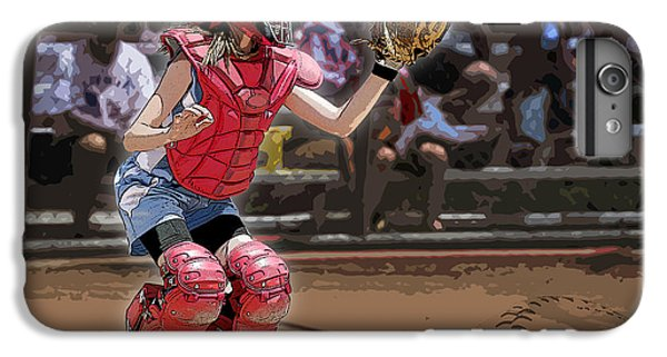 Softball iPhone 7 Plus Case - Catch It by Kelley King