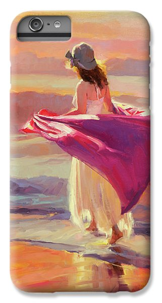 Beach iPhone 7 Plus Case - Catching The Breeze by Steve Henderson