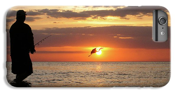 Dick Goodman iPhone 7 Plus Case - Caught At Sunset by Dick Goodman