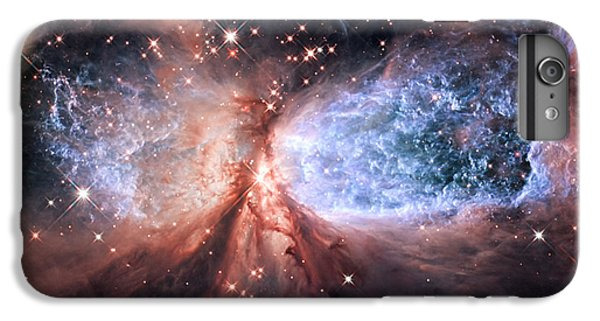 IPhone 7 Plus Case featuring the photograph Celestial Snow Angel - Enhanced - Sharpless 2-106 by Adam Romanowicz