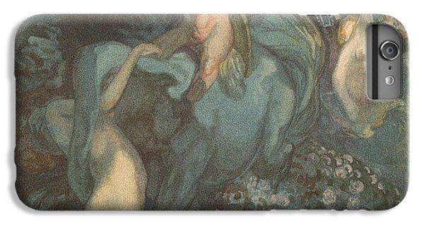 Centaur Nymphs And Cupid IPhone 7 Plus Case by Franz von Bayros