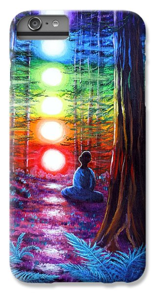 Chakra Meditation In The Redwoods IPhone 7 Plus Case