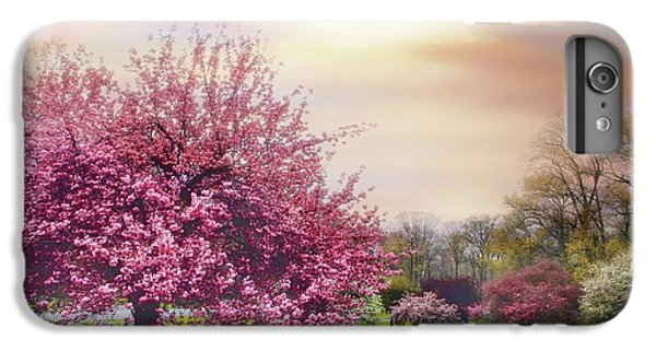 IPhone 7 Plus Case featuring the photograph Cherry Orchard Hill by Jessica Jenney
