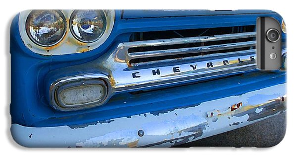 Shrimp Boats iPhone 7 Plus Case - Chevy Grill by Michael Thomas