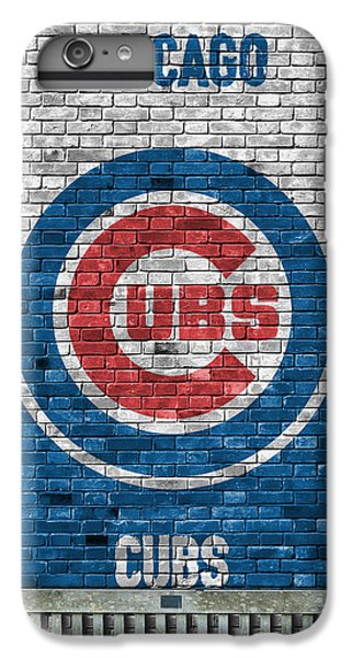 Chicago Cubs Brick Wall IPhone 7 Plus Case by Joe Hamilton