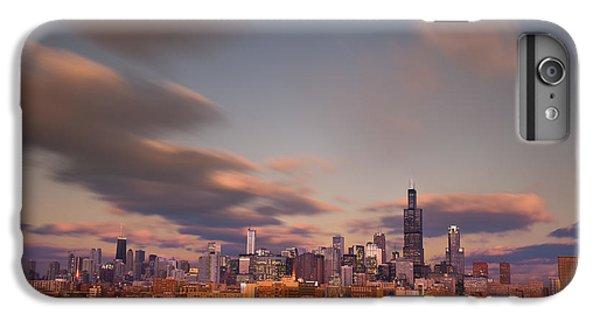 City Sunset iPhone 7 Plus Case - Chicago Dusk by Steve Gadomski