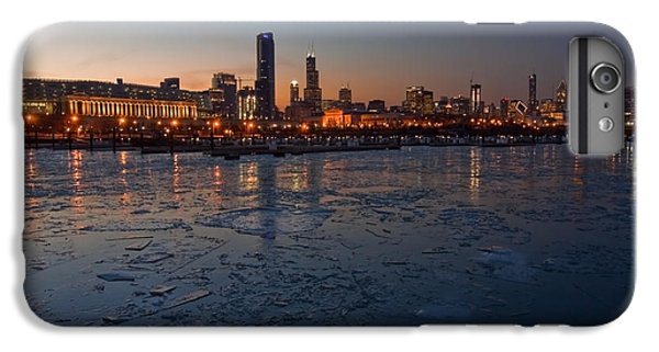 Chicago Skyline At Dusk IPhone 7 Plus Case by Sven Brogren
