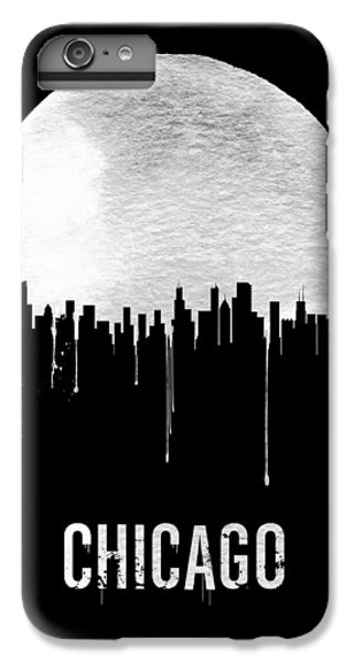 Grant Park iPhone 7 Plus Case - Chicago Skyline Black by Naxart Studio