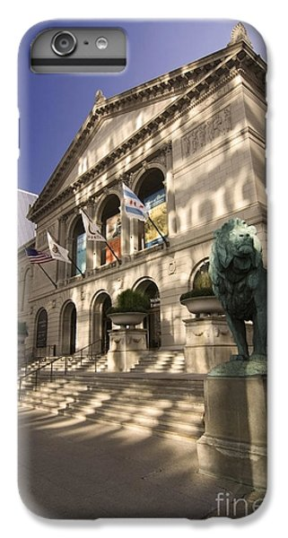 Chicago's Art Institute In Reflected Light. IPhone 7 Plus Case by Sven Brogren