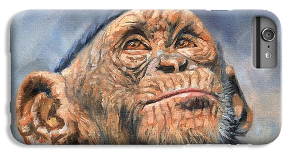 Chimp IPhone 7 Plus Case by David Stribbling