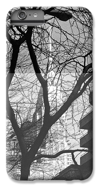 IPhone 7 Plus Case featuring the photograph Chrysler Building And Tree by Dave Beckerman