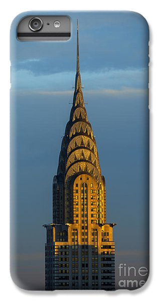 City Sunset iPhone 7 Plus Case - Chrysler Building In The Evening Light by Diane Diederich