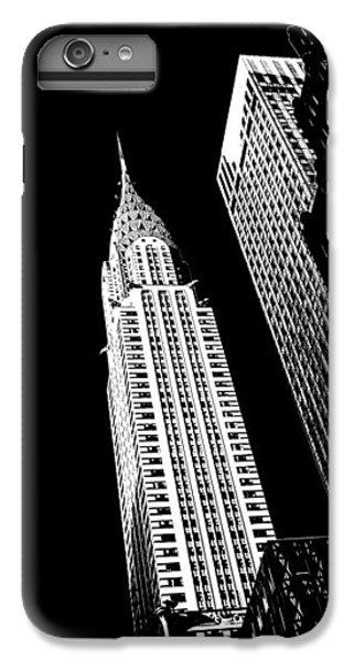 Chrysler Building iPhone 7 Plus Case - Chrysler Nights by Az Jackson