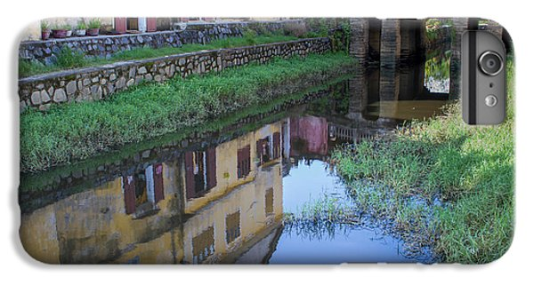 IPhone 7 Plus Case featuring the photograph Chua Cau Reflection by Hitendra SINKAR